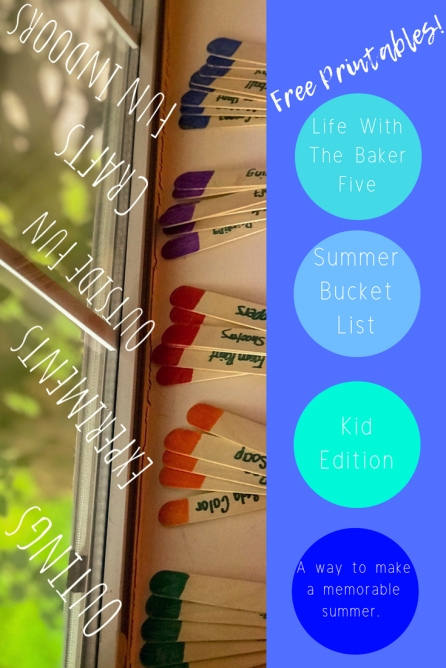 Summer Bucket List Kid Edition
